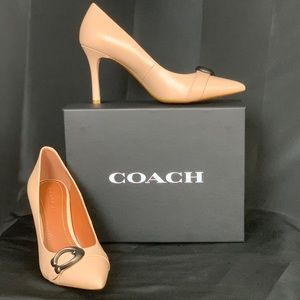 Coach Women's Waverly 85 Ankle-High Leather Pump